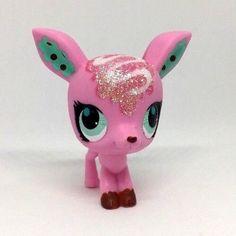 Littlest Pet Shop Pink Glitter Sparkle Deer Blue Eyes #3037 Preowned LPS Hasbro | Toys & Hobbies, Preschool Toys & Pretend Play, Littlest Pet Shop | eBay!