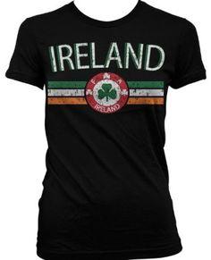 51ce20dac Ireland Crest International Soccer Juniors T-shirt