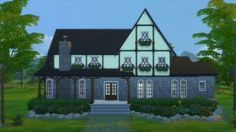 European Manor by RayanStar at Mod The Sims via Sims 4 Updates