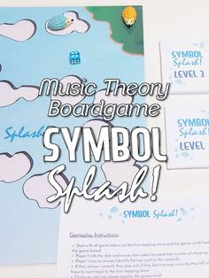Have your kids begging for theory time using free music games! http://colourfulkeys.ie/perfect-welcome-back-music-boardgame-symbol-splash/