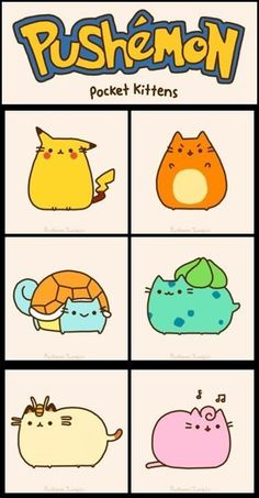 Just have to get this out there: I'm totally obsessed with Pusheen the cat. Pusheen is fluffy, chubby, adorable, lazy, loves Nutella…basically my.