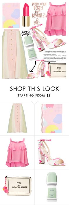 """241"" by erohina-d ❤ liked on Polyvore featuring Peter Pilotto, Miss Selfridge, Monique Lhuillier, Bag-All and Avon"