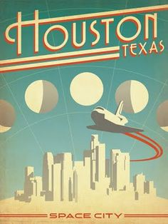 You can use this vintage themed poster for a start off point in a room, or it can add just a little bit of an extra touch.  Find one for your hometown!