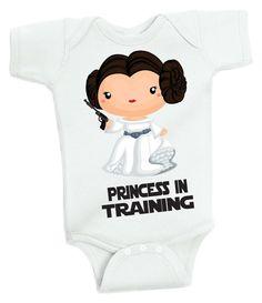 Princess in Training- Little Princess Nerd Master Geek Baby Girl Baby Shower…