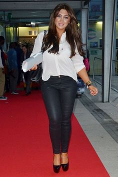 Lauren Goodger at Essex Fashion Week
