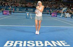 Maria Sharapova débute bien 2015. La Russe remporte à Brisbane son 34e titre en simple.
