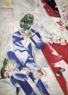 The Poet  - Marc Chagall