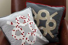 Carolyn Friedlander Park Pattern Pillows | Flickr - Photo Sharing!
