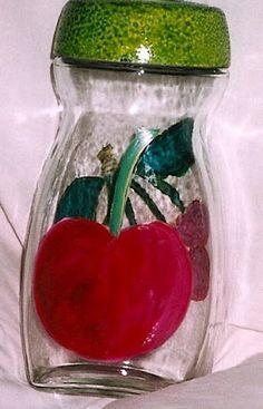 frascos de vidrio decorados con pintura - Buscar con Google