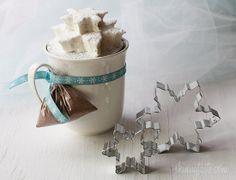 Hot Cocoa with Homemade Vanilla Bean Agave Marshmallows as a gift :)