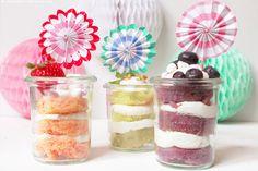 Cupcakes im Glas