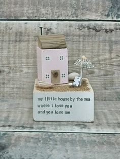 Check out this item in my Etsy shop https://www.etsy.com/uk/listing/527402406/beach-house-driftwood-art-wood-house
