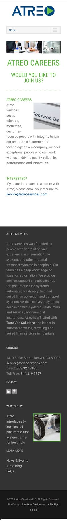 Atreo Services Google+ business page Google+ profile setup and - resume services denver