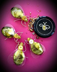 Bee brooches £15 each