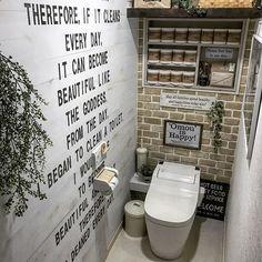 Toilet And Bathroom Design, Brick Room, Industrial Bathroom, Beer Recipes, Washroom, Interior Inspiration, Interior And Exterior, Canning, Home Decor