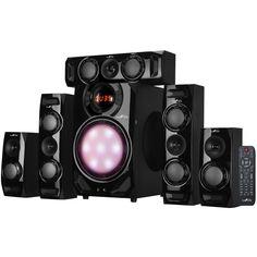 beFree Sound - Powered Wireless Speaker System - Black, 91595509M
