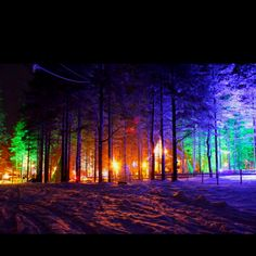 Rovaniemi, Finland. Santa Claus Village <3