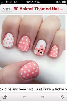 Cute ... no bear thing though  Free Nail Technician Information  http://www.nailtechsuccess.com/nail-technicians-secrets/?hop=megairmone