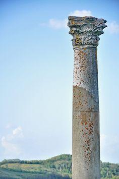 Sarmisegetuza Ulpia Column, sec I, Romania, www.romaniasfriends.com