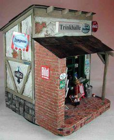 Hömma - eine Bude im Kohlenpott als Puppenhaus...boah ey hasse dat gesehn!