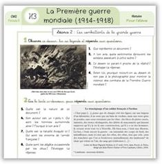 Histoire CM2 - Séquence complète : La 1ère Guerre Mondiale - Cycle 3 ~ OrphéecoleCycle 3 ~ Orphéecole French History, Thing 1, Teaching French, Kids Learning, Culture, Education, Wordpress, Montessori, Homeschool