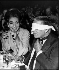 Maria Callas and Aristotle Onassis.