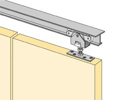 Hettich System 1260 - Hettich Bi-Folding Sliding Door Hardware
