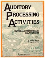 Auditory Processing Activities by JoAnne Jeffries - Grades K-6 - 44.95