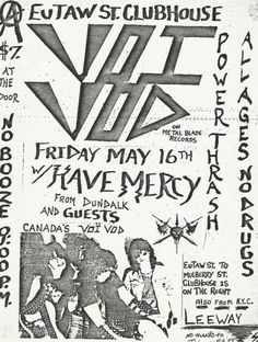 VOIVOD!!! Awesome Posters, Heavy Metal, Art, Musik, Heavy Metal Music