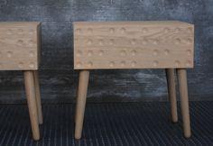 bedside midcentury table nightstand от EbanisteriaCavallaro