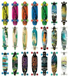 Longboards - I like the hot pink one at the top! Sector Nine b9ca6365704