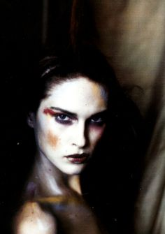 """Pale Shades"" Erin Wasson photographed by Paolo Roversi for Vogue Italia 2002"