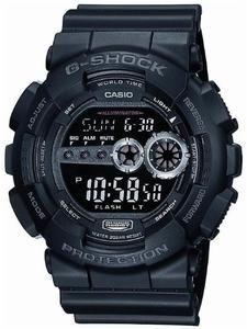 G-Shock Classic Tough Black GD100 1B Watch
