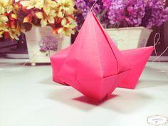 Balão para Festa Junina de Origami