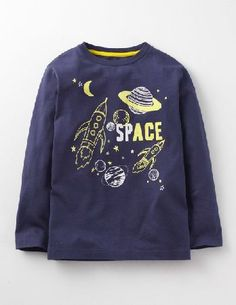 Mini Boden Ground Control T-shirt Storm/Space Ace Boys These spacemen know adventure and fun go hand in hand. Our T-shirt is made from 100% cotton jersey so its ideal for staying warm and active. But be careful: the logos glow in the dark, so its best not http://www.MightGet.com/january-2017-13/mini-boden-ground-control-t-shirt-storm-space-ace-boys.asp