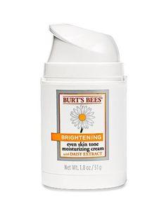 Burt's Bees Brightening Cream   allure.com