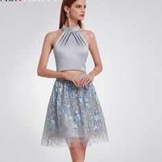 78646dd217 Buy Lace Two Pieces Homecoming Dresses at Narvay.com.Shop two-piece dresses