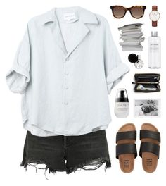 """""""lighthouse"""" by martosaur ❤ liked on Polyvore featuring Alexander Wang, Billabong, Daniel Wellington, Thierry Lasry and Muji"""
