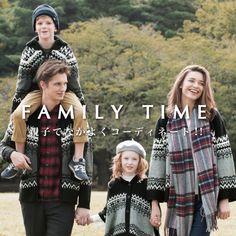 Adelaide for AW 2016 Family looks, Ikka Japan fashion