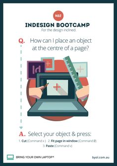 InDesign Training Tip #2 How to centre on your page
