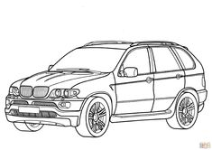 Print BMW Coloring Page coloring page & book. Your own BMW Coloring Page printable coloring page. With over 4000 coloring pages including BMW Coloring Page . Cars Coloring Pages, Free Adult Coloring Pages, Animal Coloring Pages, Free Printable Coloring Pages, Coloring For Kids, Coloring Sheets, Coloring Books, Car Colors, Car Drawings