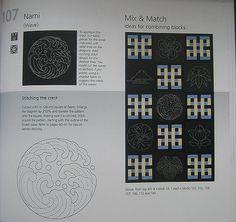 https://flic.kr/p/62BTX1 | japanese quilt blocks: sashiko