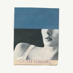 Katrien de Blauwer, Blue scenes 8, 2016, Galerie Les filles du calvaire