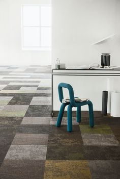 Discover our woven vinyl floors, available in different colours and shapes. Vinyl Flooring, Three Dimensional, Different Colors, Colours, Shapes, Create, Interior, Inspiration, Design