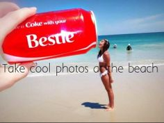 #84 Take cool photos at the bech with friends