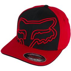 Fox Flexfit Cap All Over red