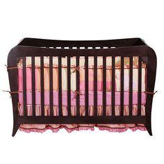 BSF Baby Megan 4-in-1 Crib - Espresso