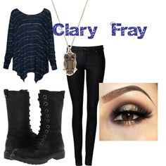 """Clary Fray"" by greekfreak-69 on Polyvore"