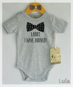 Lustige Babykleidung jungen. Damen ich Baby von HandmadeByLula