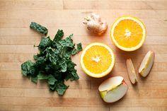 Apple Kale Ginger Smoothie